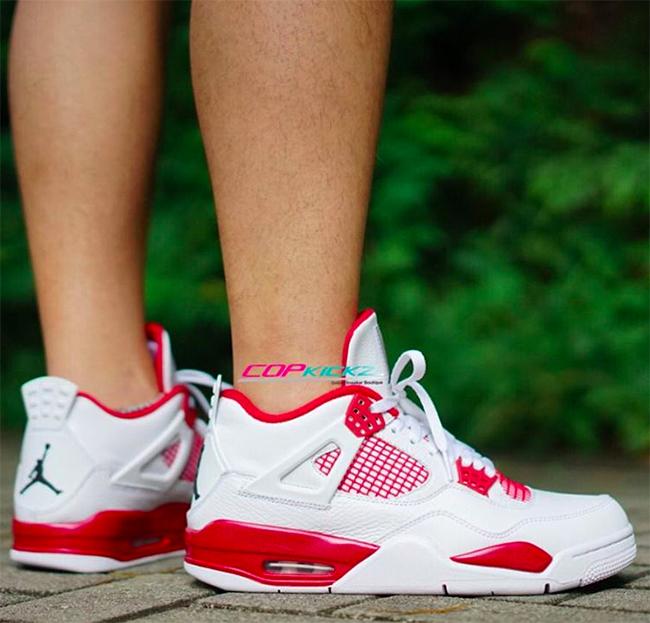 Air Jordan 4 Alternate 89 On Feet