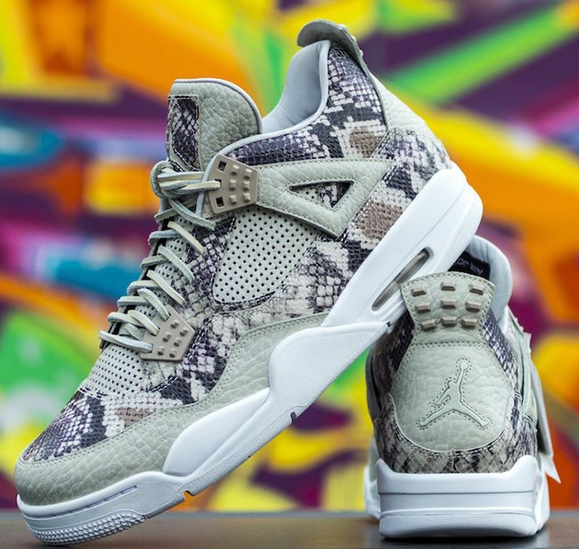 Air Jordan 4 Pinnacle Snakeskin Sample