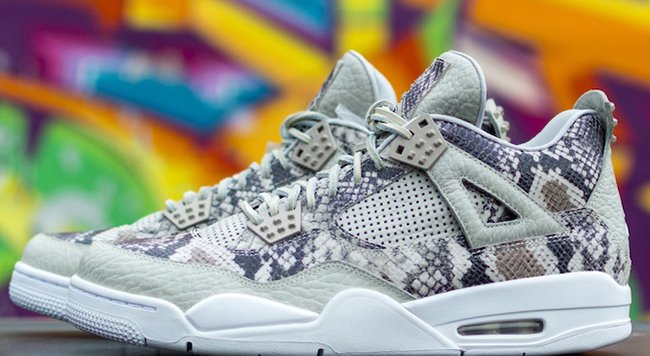 premium selection 573bc a2fdd Air Jordan 4 Pinnacle Snakeskin Sample