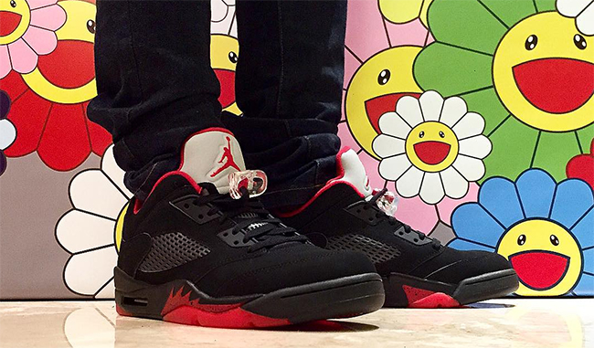 Air Jordan 5 Low Alternate 90 On Feet