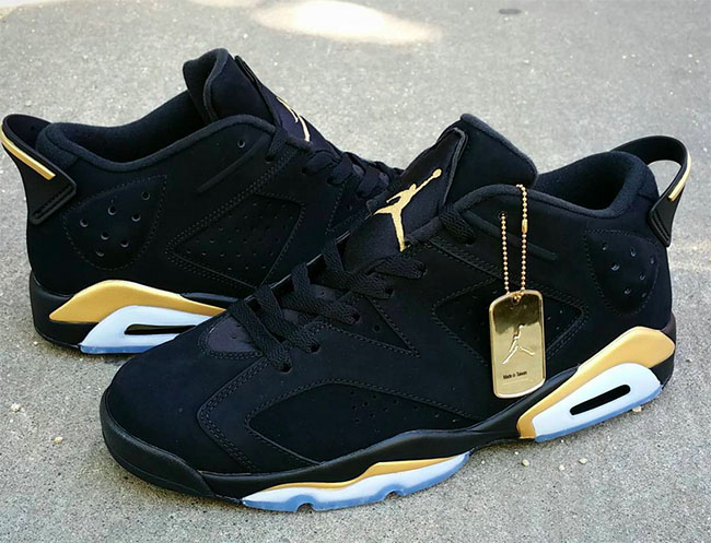 Air Jordan 6 Low DMP Custom