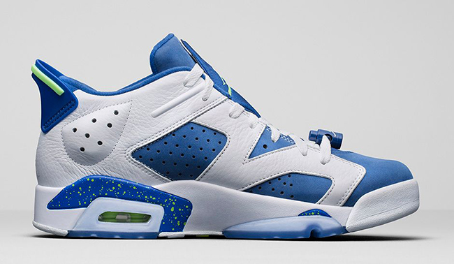 Air Jordan 6 Low Seahawks Ghost Green
