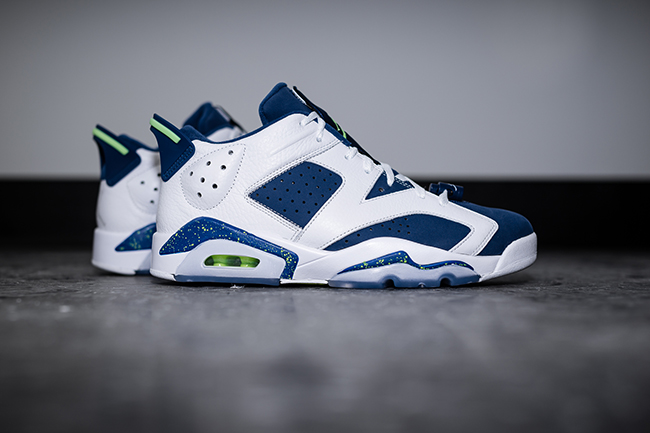Air Jordan 6 Low Seahawks