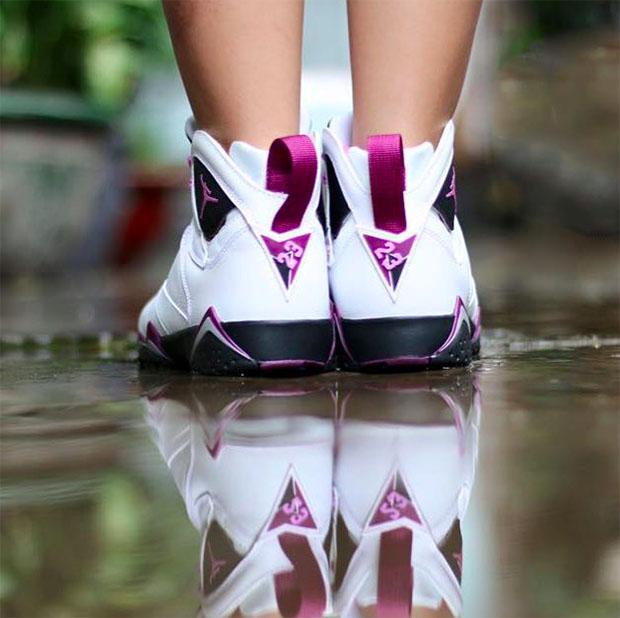 a2bfa895d7e Air Jordan 7 GS Fuchsia Glow Berry Release Date | SneakerFiles