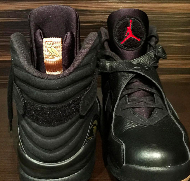 8cb234829753c5 Air Jordan 8 OVO Black