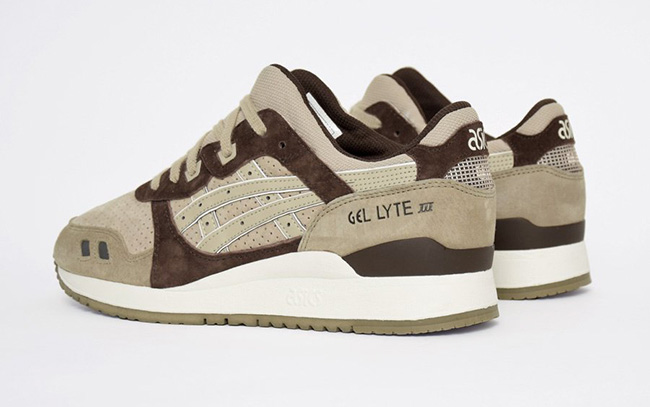 Asics Gel Lyte III Coffee