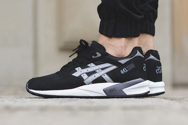Asics Gel Saga Black Light Grey