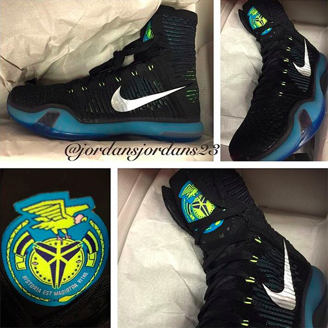 Nike Kobe 10 Elite High Black Volt