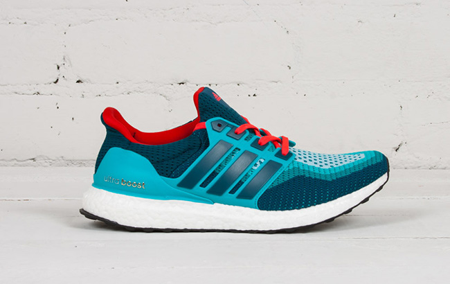 Buy adidas Ultra Boost Dolphins Teal Red