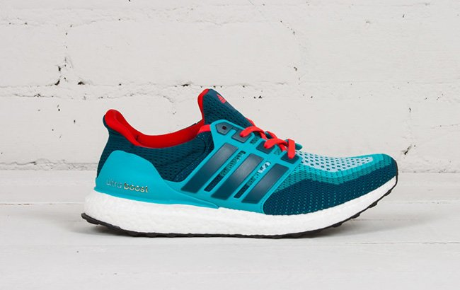 4474074eb Buy adidas Ultra Boost Dolphins Teal Red