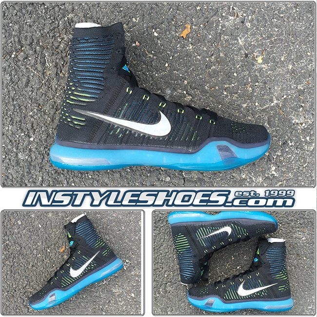 Buy Nike Kobe 10 Elite High Black Volt