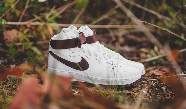 Chocolate Nike Air Force 1 High