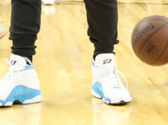 Chris Paul Air Jordan 13 Hornets Home PE