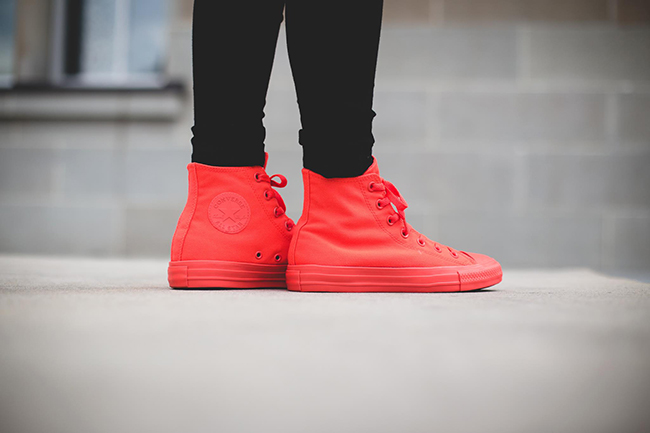 Converse Chuck Taylor All Star Hi Bright Crimson