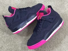 Denim Air Jordan 4 GS Girls 2016