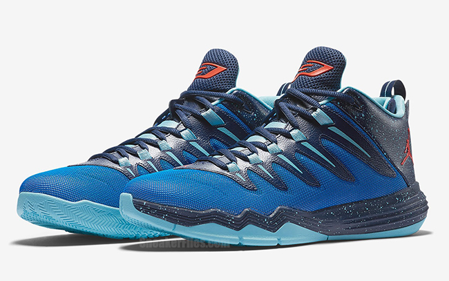 Nike Jordan CP3.IX 10 X Soar Infrared 23 Midnight Navy