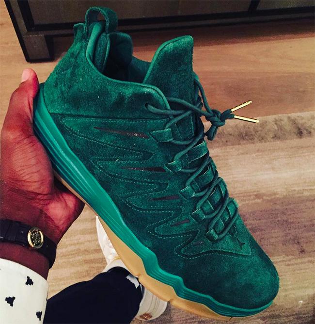 Jordan CP3 9 Green Suede