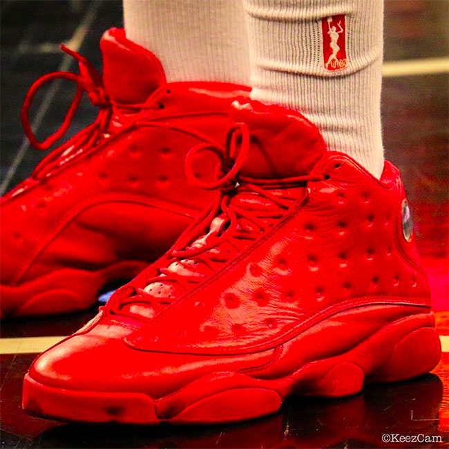 Lynetta Kizer Red Air Jordan 13