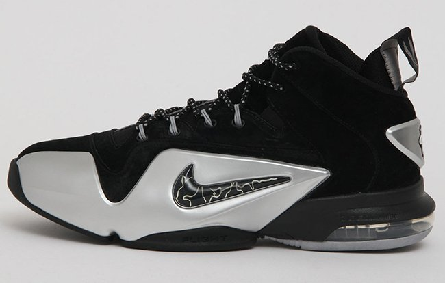 Metallic Silver Nike Air Penny 6