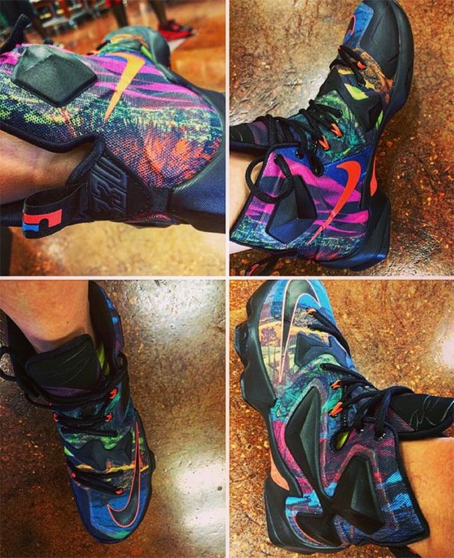 Multicolor Nike LeBron 13