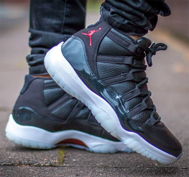 8750801bcb4 Air Jordan 11 72-10 Christmas Holiday 2015 | SneakerFiles