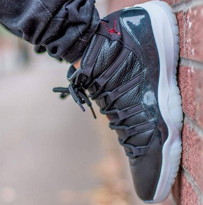 Air Jordan 11 72 10 On Foot