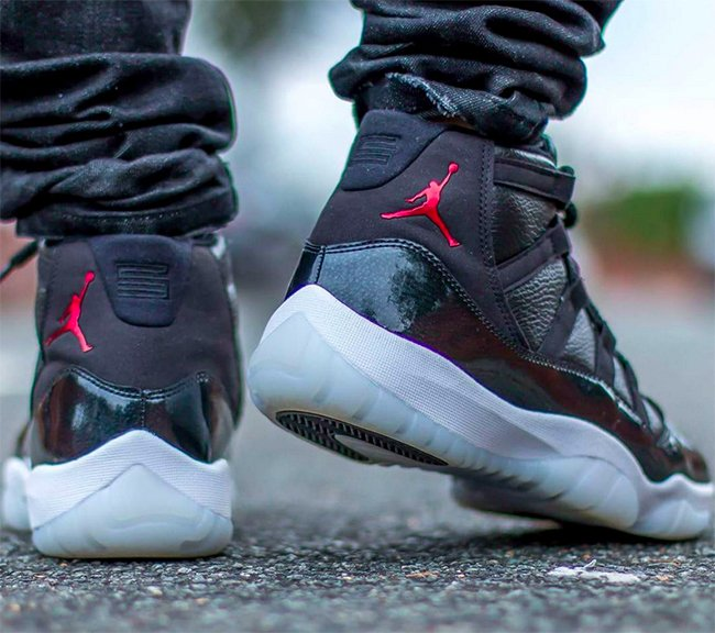 cheaper c446a cba13 Air Jordan 11 72 10 On Foot