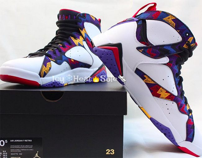 ce09dd14c715ed Air Jordan 7 Nothing But Net
