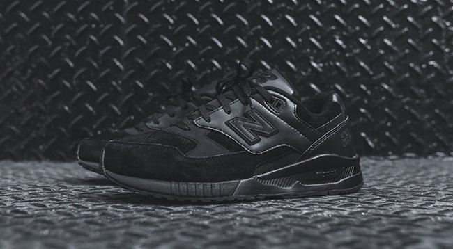classic fit beauty offer discounts New Balance 530 Triple Black | SneakerFiles