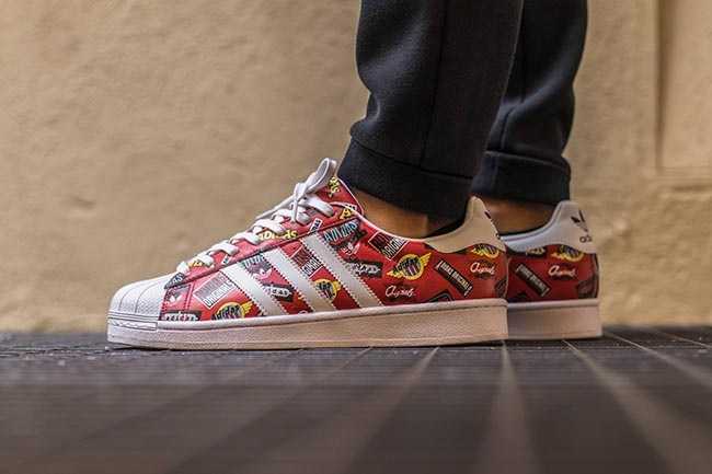NIGO adidas Originals Superstar Logos