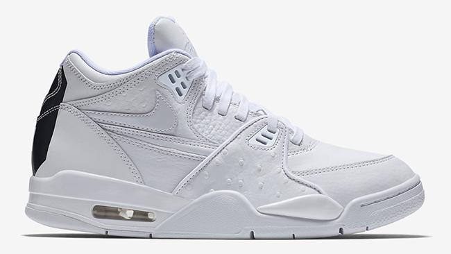 Nike Air Flight 89 White Ostrich