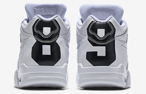Nike Air Flight 89 White Ostrich