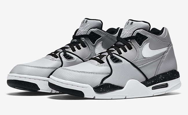 more photos 7b2e0 4714a Nike Air Flight 89 Wolf Grey White Black