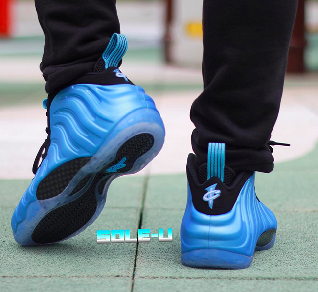 nike foamposite blue air max curry