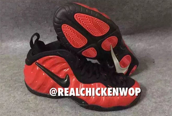 Nike Air Foamposite Pro Black Red 2016