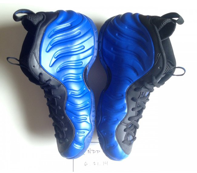 Nike Air Foamposite Pro Blue Black Ben Gordon 2016