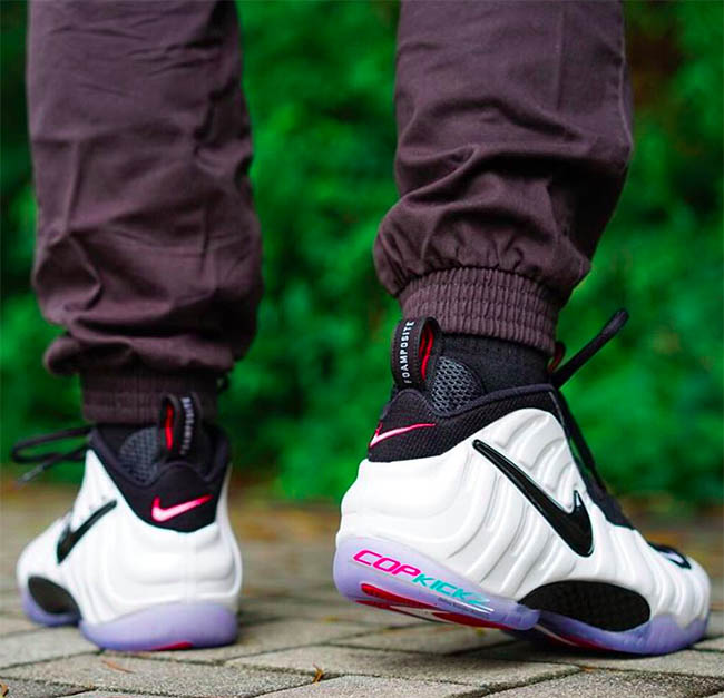 Nike Air Foamposite Pro He Got Game On Feet