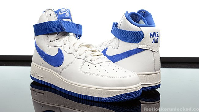 nike air force 1 high top blue and white nz
