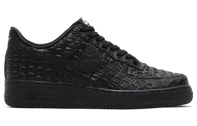 Nike Air Force 1 LV8 Croc Black