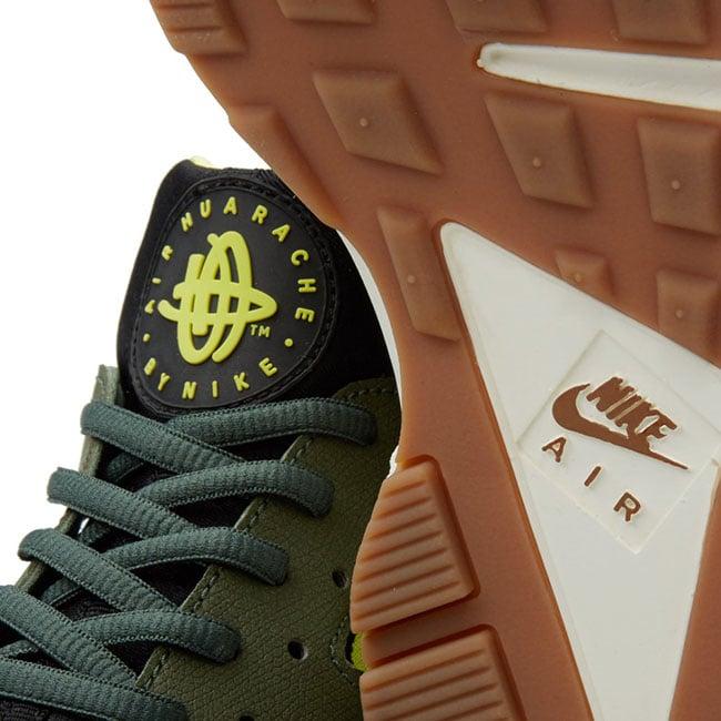 Nike Air Huarache Carbon Green