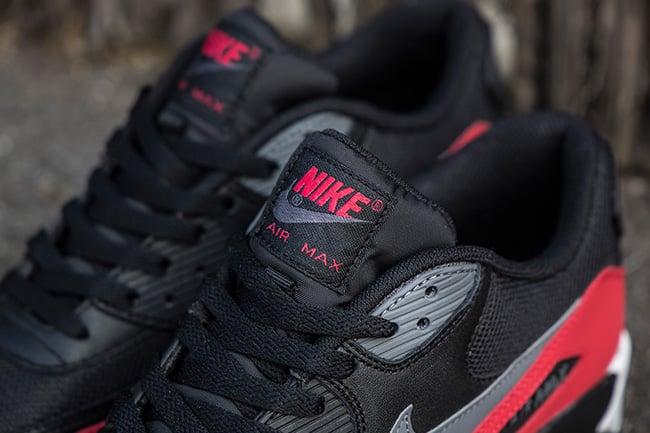 Nike Air Max 90 Black Grey Red
