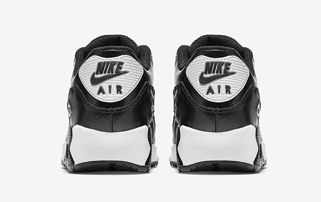 Nike Air Max 90 Black White Cheetah Snakeskin