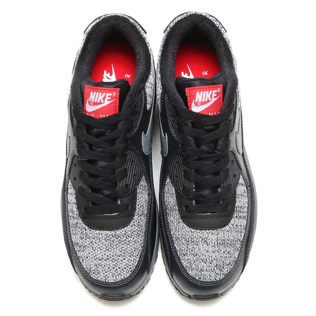 Nike Air Max 90 Essential Black Grey Red