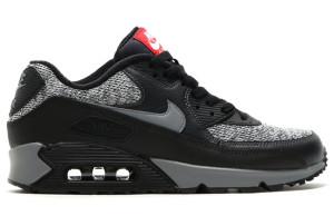 Nike Air Max 90 Essential Black Grey Red