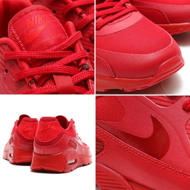 nike air max 90 all red