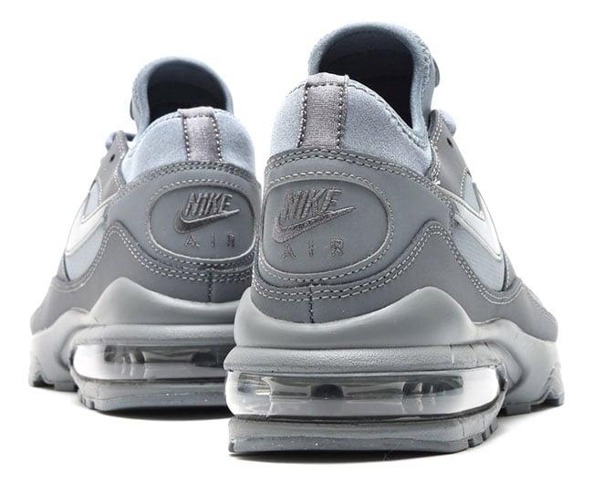 nike air max 93 tonal blue black grey sneakerfiles. Black Bedroom Furniture Sets. Home Design Ideas