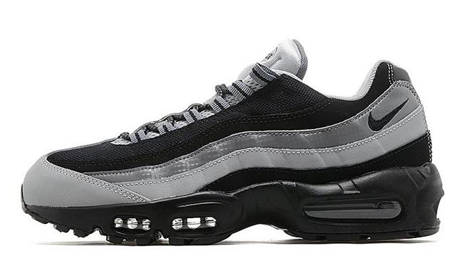 Nike Air Max 95 Black Wolf Grey