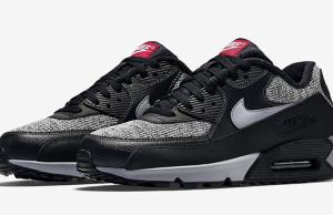 Nike Air Max 90 Essential Winter Black Grey Red
