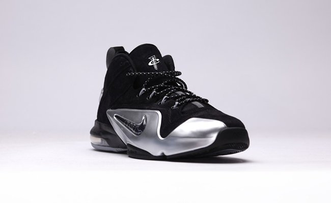 Nike Air Penny 6 Black Metallic Silver