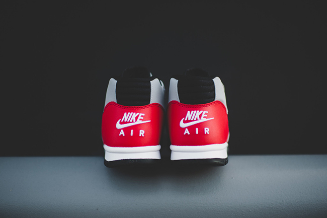 Nike Air Trainer 1 Mid Wolf Grey University Red